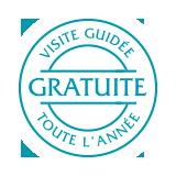 ecusson visite guidee gratuite caves roquefort papillon
