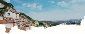 panorama roquefort sur soulzon aveyron visite caves roquefort papillon